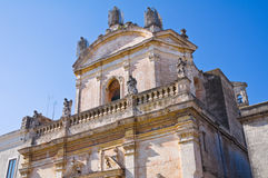 Church of Madonna del Carmine. Manduria. Puglia. Italy. Stock Photo
