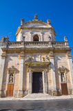 Church of Madonna del Carmine. Manduria. Puglia. Italy. Royalty Free Stock Images