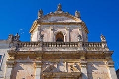 Church of Madonna del Carmine. Manduria. Puglia. Italy. Royalty Free Stock Photo