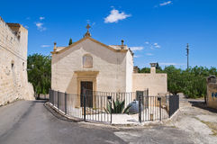 Church of Madonna del Curato. Ugento. Puglia. Italy. Royalty Free Stock Image