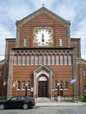 Church of the Madonna della Difesa. The Church of the Madonna della Difesa Italian: Chiesa della Madonna della Difesa, French: Église de Notre-Dame-de-la-Dé Stock Photo
