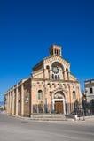 Church of Madonna della Fontana. Torremaggiore. Puglia. Italy. Royalty Free Stock Photos