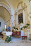 Church of Madonna della Strada. Taurisano. Puglia. Italy. Royalty Free Stock Photos
