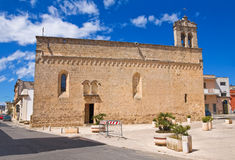 Church of Madonna della Strada. Taurisano. Puglia. Italy. Royalty Free Stock Photos