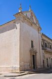 Church of Madonna delle Grazie. Maglie. Puglia. Italy. Royalty Free Stock Images