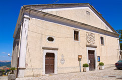 Church of Madonna delle Grazie. Pietragalla. Basilicata. Italy. Royalty Free Stock Images