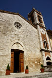 Church of Madonna di Vitaleta, San Quirico dOrcia Royalty Free Stock Photography