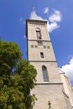Church of Madonna on Námětí Stock Images