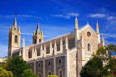 Church in Madrid Stock Photography