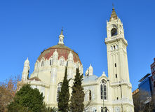 Church in Madrid - Spain. Church of San Manuel and San Benito in Madrid (Spain Stock Photos