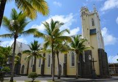 Church of Mahébourg. Catholic church (Notre Dame) of Mahébourg, Mauritius Stock Photos