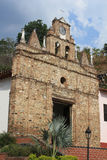 Church in main Park of Olaya, Antioquia, Colombia. Stock Photography