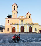 Church in the main square, cienfuegos, cuba Stock Photography