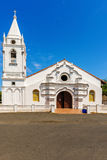 A church in the main square of Pese in Panama Stock Photo