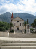 Church in Makarska Royalty Free Stock Photo