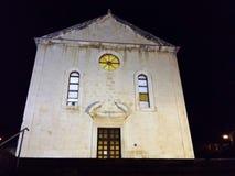 Church in Makarska Stock Photography