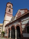 Church in Malaga Royalty Free Stock Photography