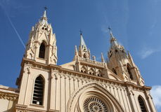 Church ( Malaga , Spain ) Stock Image