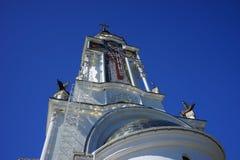 The Church in Malorechenskoye. Church on a background blue sky in Crimea Royalty Free Stock Photo