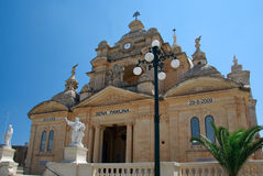 Church in Malta. Island of Gozo Royalty Free Stock Images