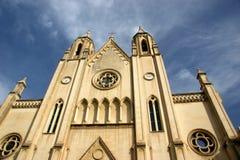 Church in  malta. Classic church in la valletta Malta Royalty Free Stock Images