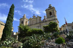 Church in Malta. La Valletta Royalty Free Stock Images