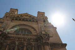 Church in Malta. An outside view of a church in Malta royalty free stock photo