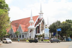 Church in Manado Stock Photo