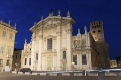 Church in Mantova. Lombardy, Italy Stock Image
