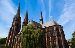 Church in Marburg royalty free stock images