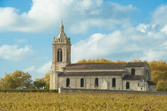 Church of Margaux, France Royalty Free Stock Image