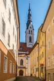 Church of Maria Assumption Day in Bad Tolz - Germany Royalty Free Stock Photography