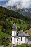 Church of Maria Gern Stock Photography
