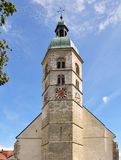 Church Maria Himmelfahrt at Bogenberg, Bavaria Royalty Free Stock Image