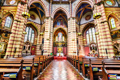 Church Maria vom Siege, Vienna, Austria Royalty Free Stock Image