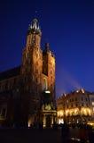 Church of Mariacki. In Crakow, Poland stock image