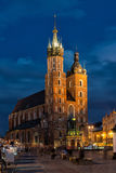 Church of Mariacki Stock Images