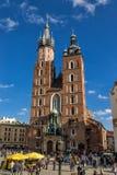 Church of Mariacki Royalty Free Stock Image