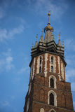 Church of Mariacki or St Marys Church in Krakow Poland Royalty Free Stock Photography