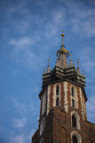 Church of Mariacki or St Marys Church in Krakow Poland Royalty Free Stock Photo