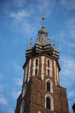 Church of Mariacki or St Marys Church in Krakow Poland Stock Photography