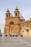 Church in Marsaxlokk Royalty Free Stock Images