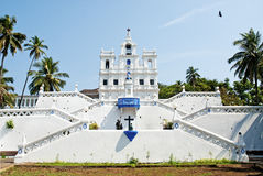 Church of Mary Immaculate Conception panaji goa india Royalty Free Stock Image
