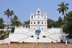 Church of Mary Immaculate Conception in Panaji, Goa Stock Image
