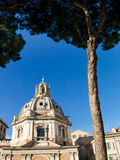 Church Mary Loreto, Rome, Italy Royalty Free Stock Images