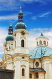 Church of Mary Magdalene in Karlovy Vary Royalty Free Stock Images