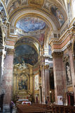 The Church of Mary Magdalene in Rome Stock Images