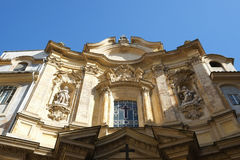 The Church of Mary Magdalene in Rome Stock Photo