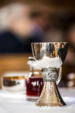Church Mass Chalice Stock Image