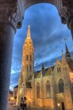 Church of Mathias Rex in Budapest Stock Image